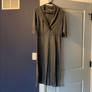Athleta grey sweater dress